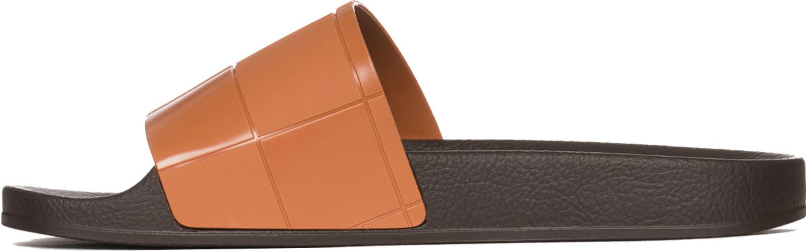 detailed look 65b00 9d228 adidas by Raf Simons  Adilette Checkerboard - Dark Brown Brown   Influence U