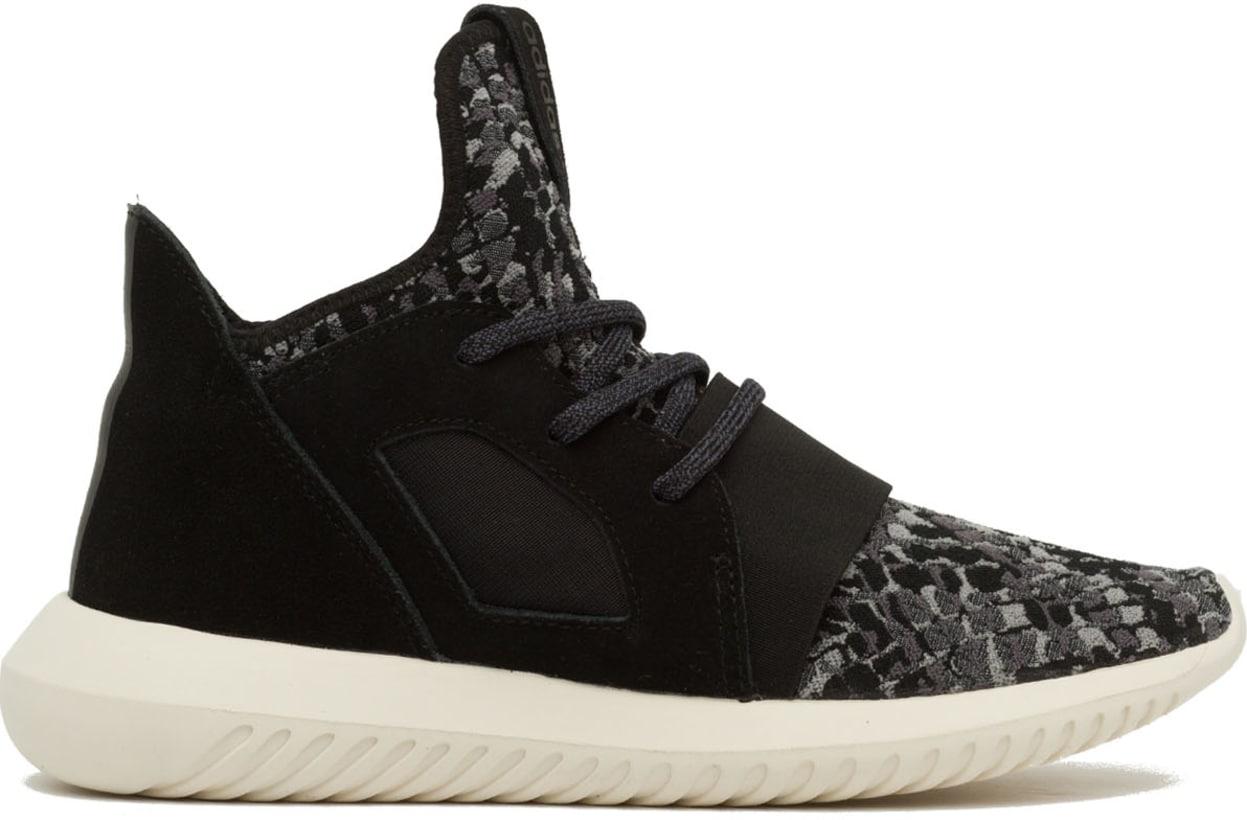 new styles 8724c c777d adidas Originals. Tubular Defiant Sneakers - Black Chalk White