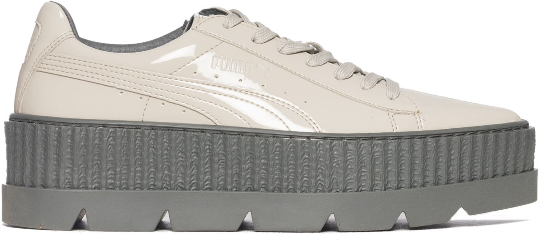 lowest price e2592 67b97 Puma - Fenty Pointy Creeper Patent- Dove/Glacier Grey