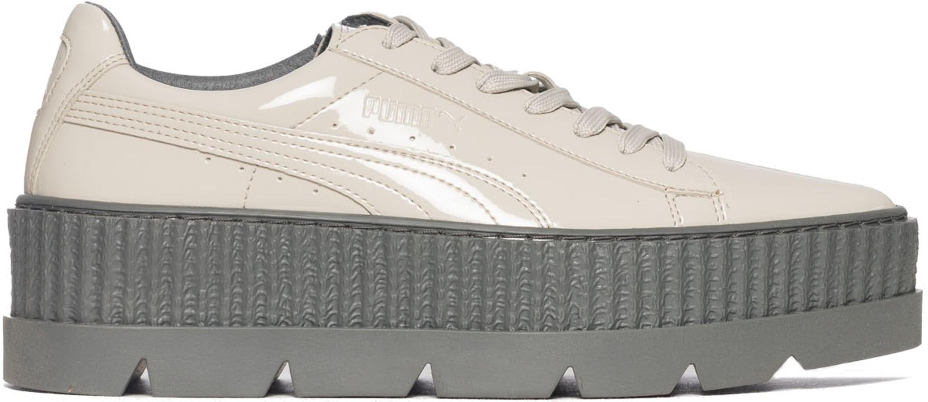 lowest price 31d6d e169d Puma - Fenty Pointy Creeper Patent- Dove/Glacier Grey