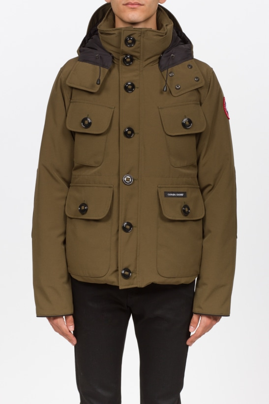 f82ff9d8b Canada Goose - Selkirk Parka - Military Green