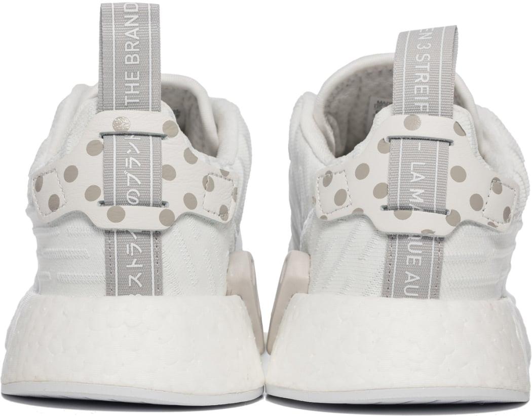 adidas Originals NMD R2 Primeknit Clear GraniteVintage WhiteCloud