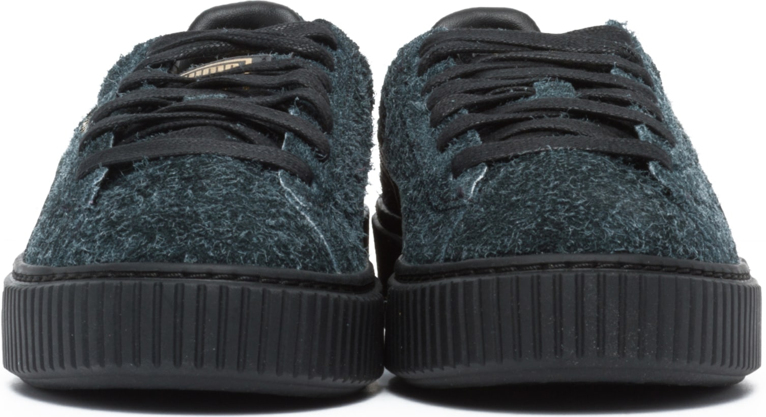 chaussures de séparation 1c489 5f932 Puma - Chaussures Plate-Forme Suede - Noir