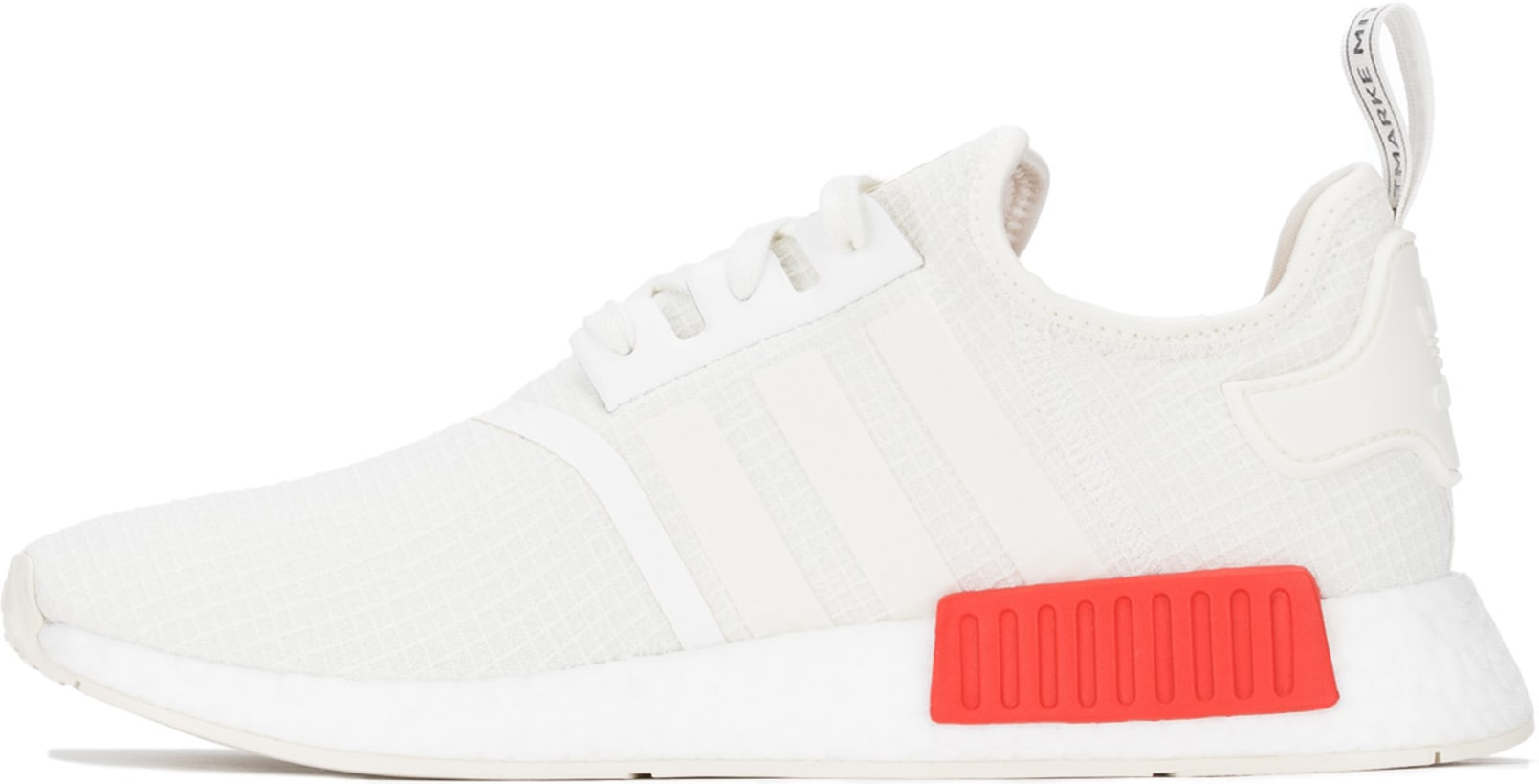 new style f1eb8 5d861 adidas Originals - NMD R1 - Off White/Off White/Lush Red