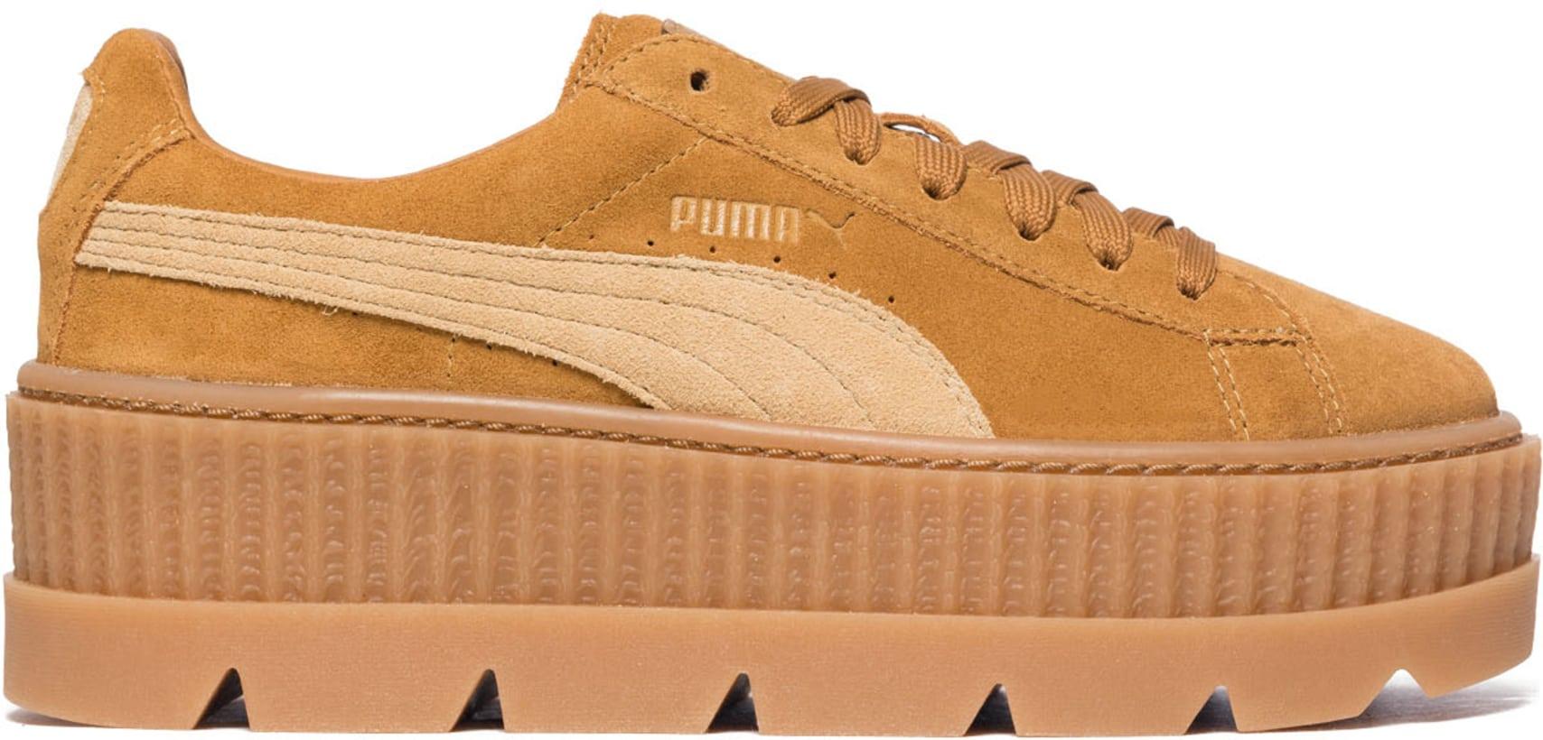 release date: 94a96 8ce68 Puma - Fenty Cleated Creeper - Brown Lark