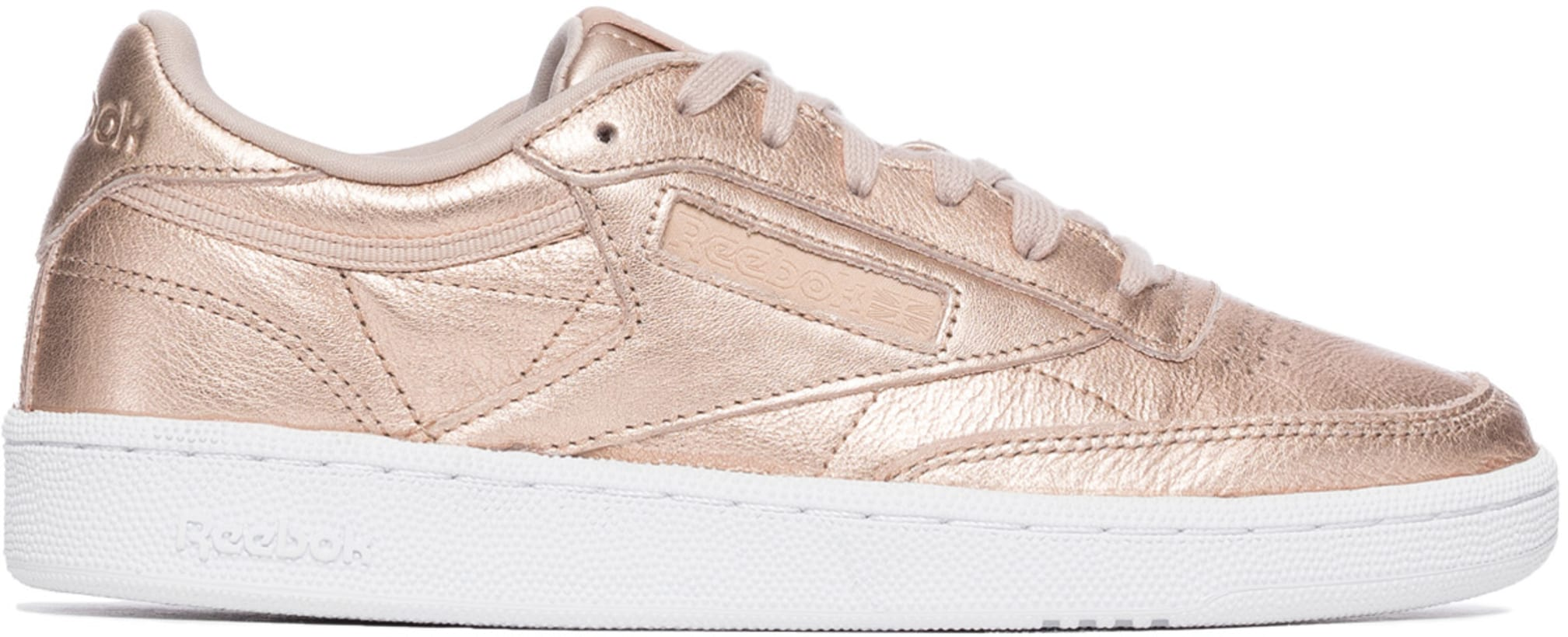 f86232a9c94 Reebok  Club C 85 Melted Metals - Gold Pearl Metallic Peach White ...