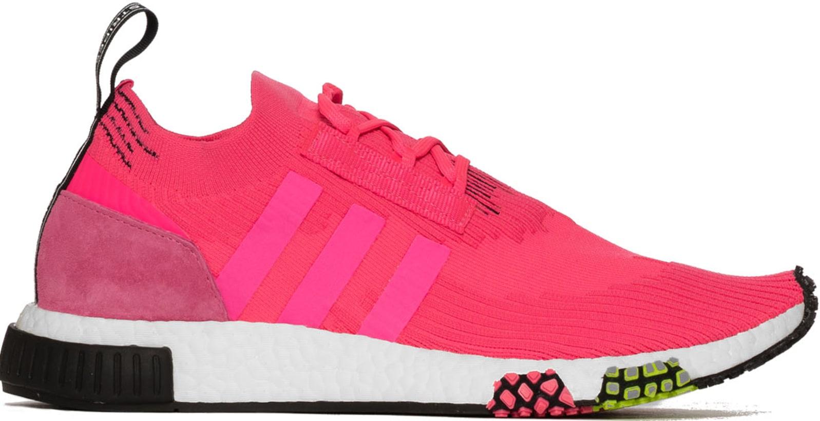 0d23aa747 adidas Originals. NMD Racer Primeknit - Solar Pink Solar Pink Core Black