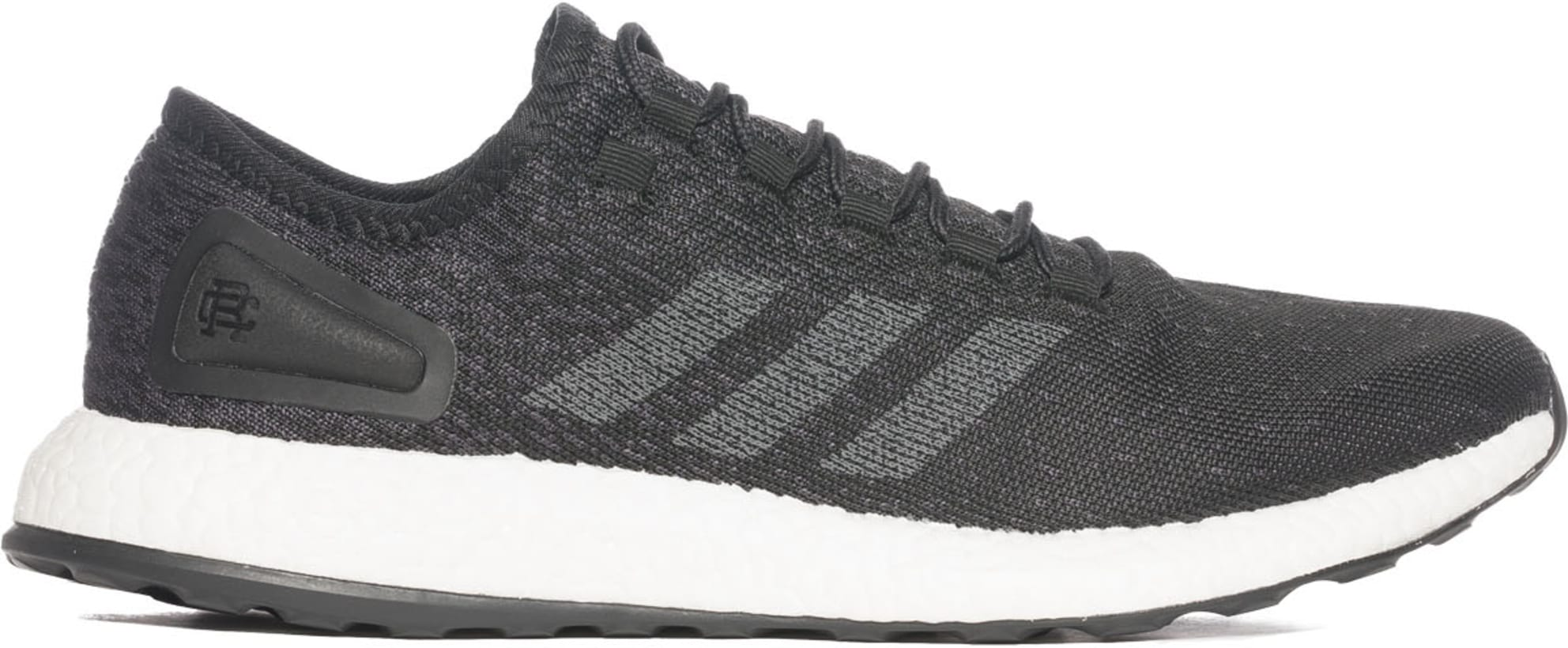 2a095c267 adidas Originals. adidas x Reigning Champ PureBOOST - Core Black Solid Grey Running  White