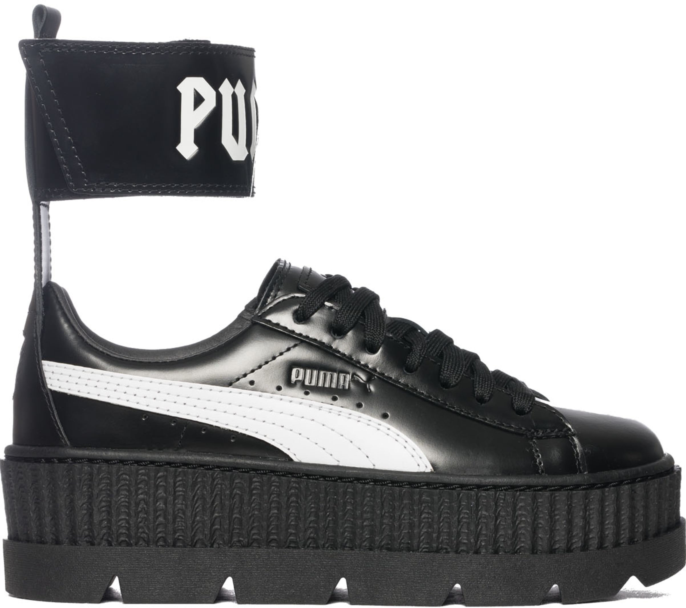 save off 7fa19 56dd9 Puma - Fenty Ankle Strap Creeper - Black