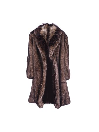 Dries Van Noten Oversized Faux Fur