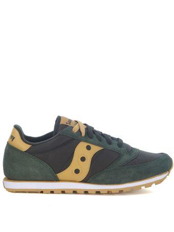 Saucony Jazz Low Pro Green And Ochre Sneaker