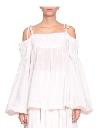 WANDERING Linen Cotton Blouse