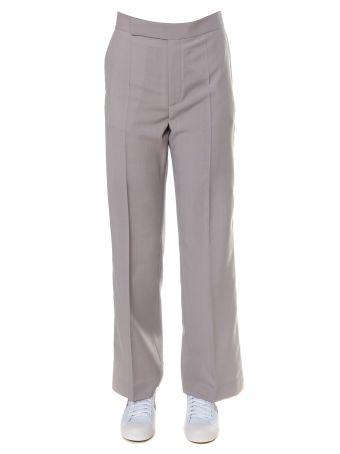 Celine Wool Blend Clay Trousers