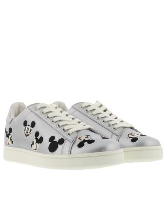M.o.a. Silver Deluxe Trend Must Have Sneakers