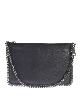 Faux Leather Falabella Clutch