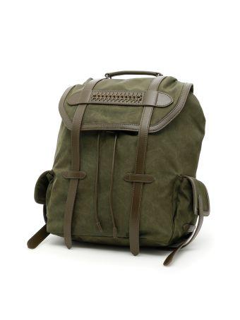 Exo Waxed Fabric Falabella Backpack