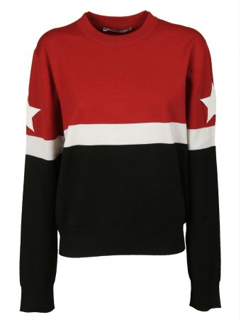 Givenchy Star Patched Sweatshirt