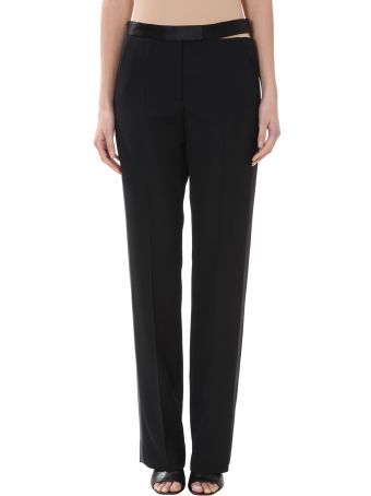 Maison Margiela Black Wool Trouser
