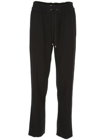 Crepe Trousers With Band