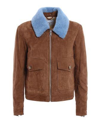 Suede Crop Jacket