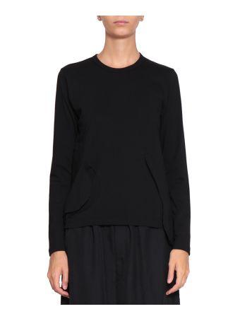 Comme des Garçons Asymmetric Cotton Sweatshirt