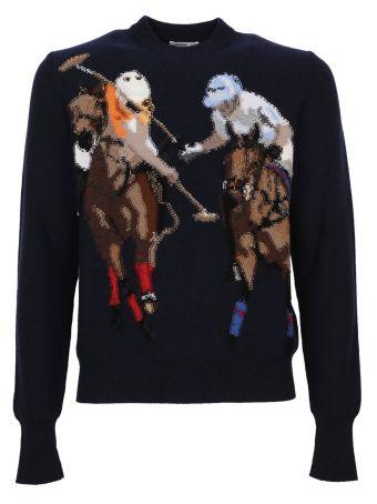 Ballantyne Polo Pattern Sweater