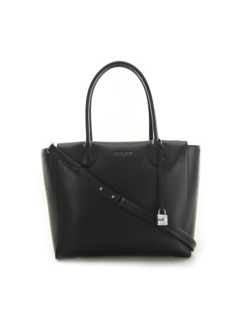 Mercer Large Satchel Michael Michael Kors Black