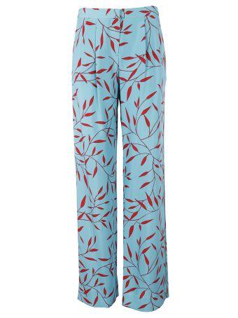 Diane Von Furstenberg Diane Von Furstenberg Printed Wide Leg Trousers