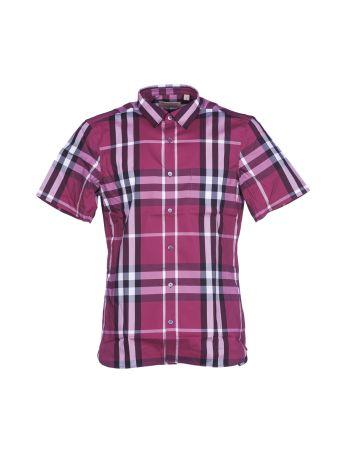 Burberry Checked Shortsleeved Shirt