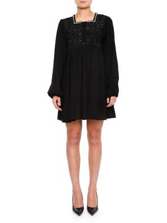 Dress With Plastron