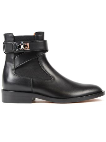 Givenchy Shark Flat Ankle Boots