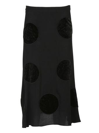 Boutique Moschino Polkadots Skirt