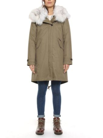 Woolrich Eskimo Parka With Hooded Cap