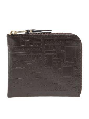 Comme Des Garçons Wallet 'embossed Logo' Wallet