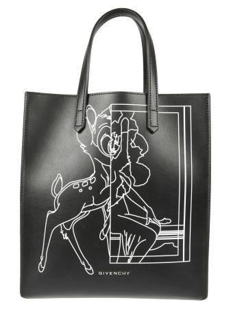 Givenchy Bambi Print Shopper Bag