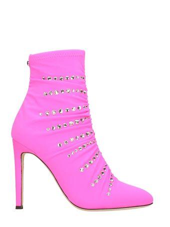Giuseppe Zanotti The Dazzling Celeste Ankle Boots