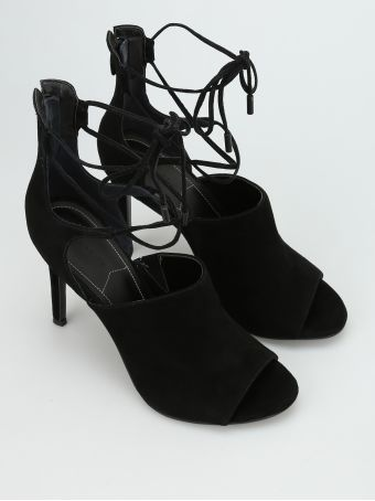 Estella Lace-up Suede Sandals