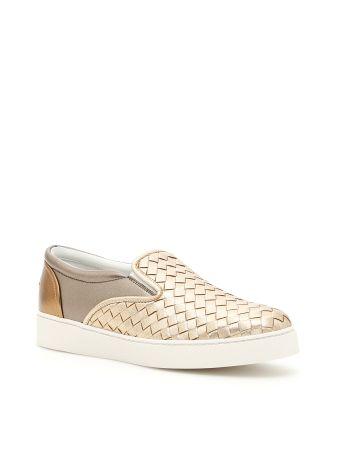 Laminated Nappa Dodger Sneakers