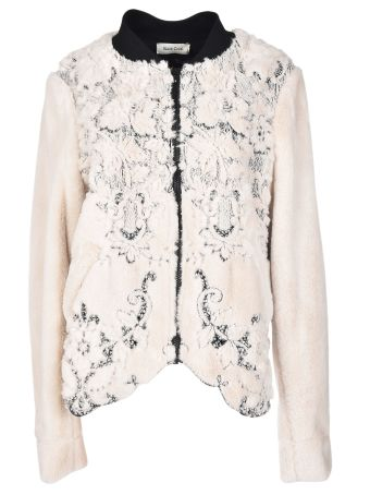 Black Coral Cris Embroidered Jacket