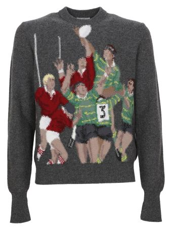 Ballantyne Embroidered Sweater