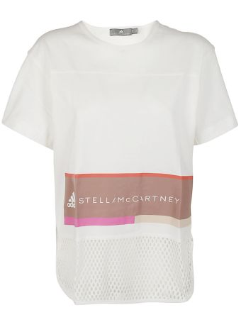 Adidas By Stella Mccartney Essentials Logo Graphic T-shirt