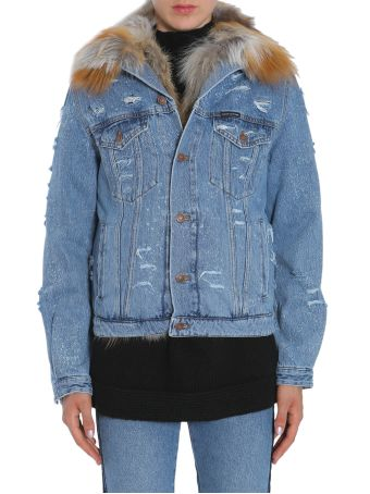 Le Bon Destroyed Denim Jacket