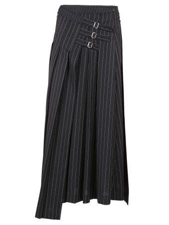 Mcq Alexander Mcqueen Striped Skirt