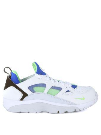 Sneaker Nike Air Trainer Huarache Low In Pelle Vegan E Neoprene Multicolor