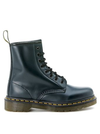 Dr.martens Blue Leather Ankle Boots
