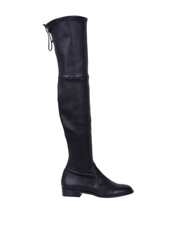 Stuart Weitzman Lowland Leather Stretch Boots