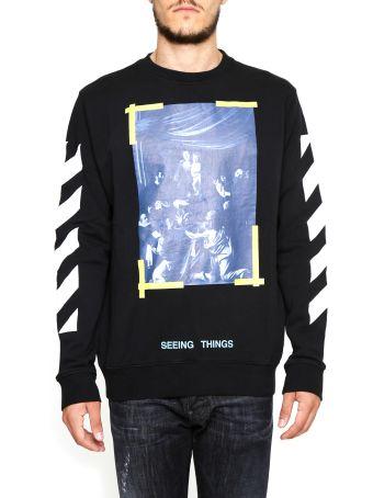 Caravaggio Print Diag Sweatshirt