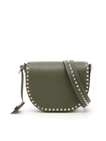 Rockstud Messenger Bag