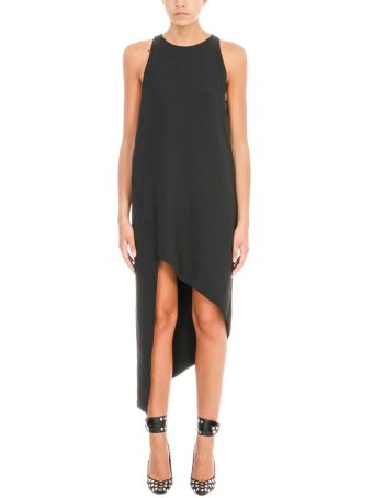 IRO Hamlin Asymmetric High-low Black Dress