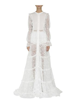 Amen Lace Ruffled Dress